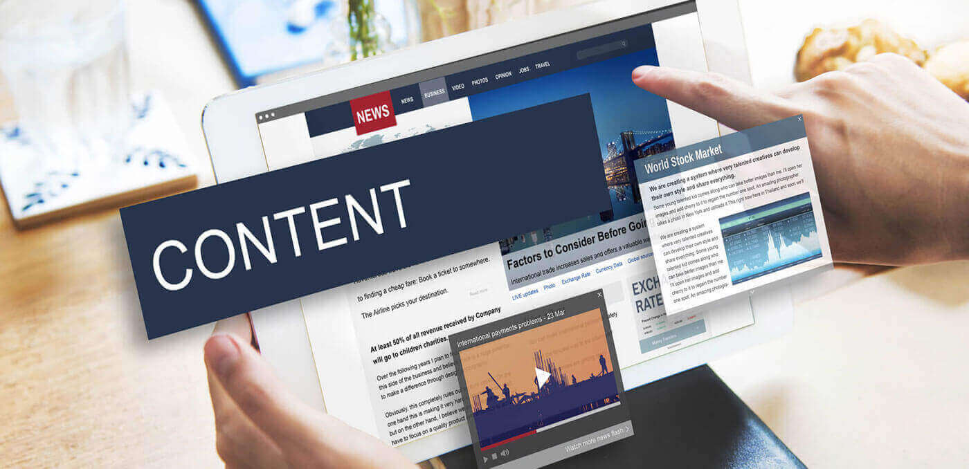 photo of 4 content marketing strategies that work for your website
